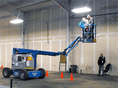 Elevated Work Platform Safety Training Course held in Edmonton and surrounding area