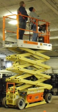 Elevated Work Platform Safety Training Course held in Edmonton and surrounding area.