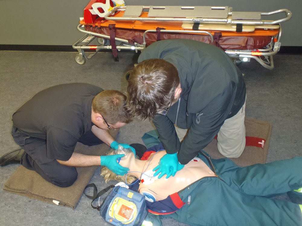 Emergency First Aid , CPR & AED courses held in Edmonton and surrounding area.